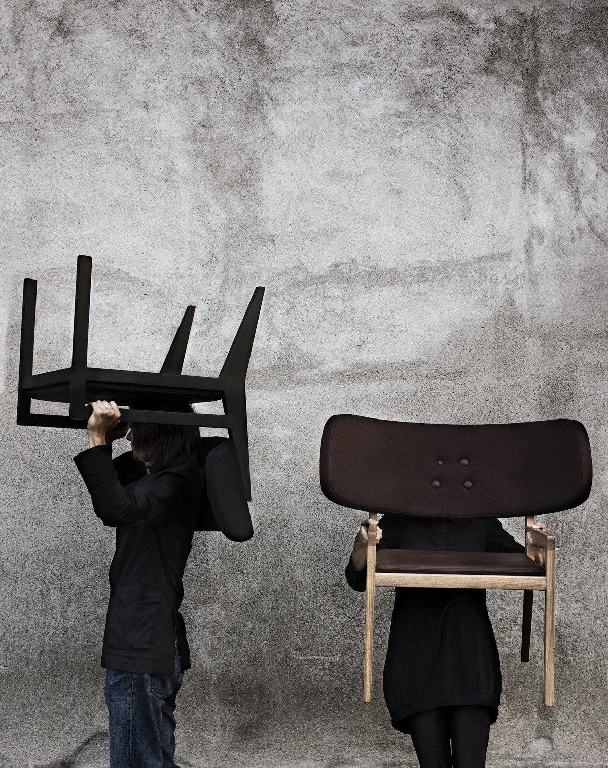 The Cartoon Chair by Gamfratesi for Swedese