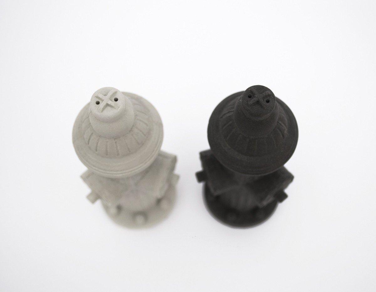 Li2bit, Concrete Fire Hydrant Salt + Pepper Shakers