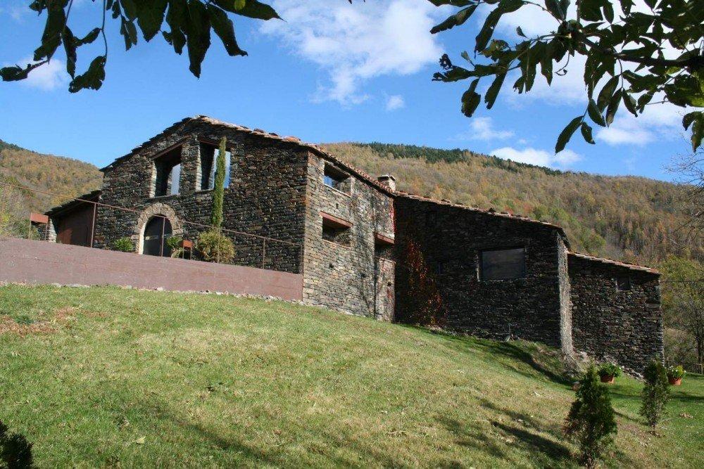 Mas la riba house by ferran lopez roca for Home designs com