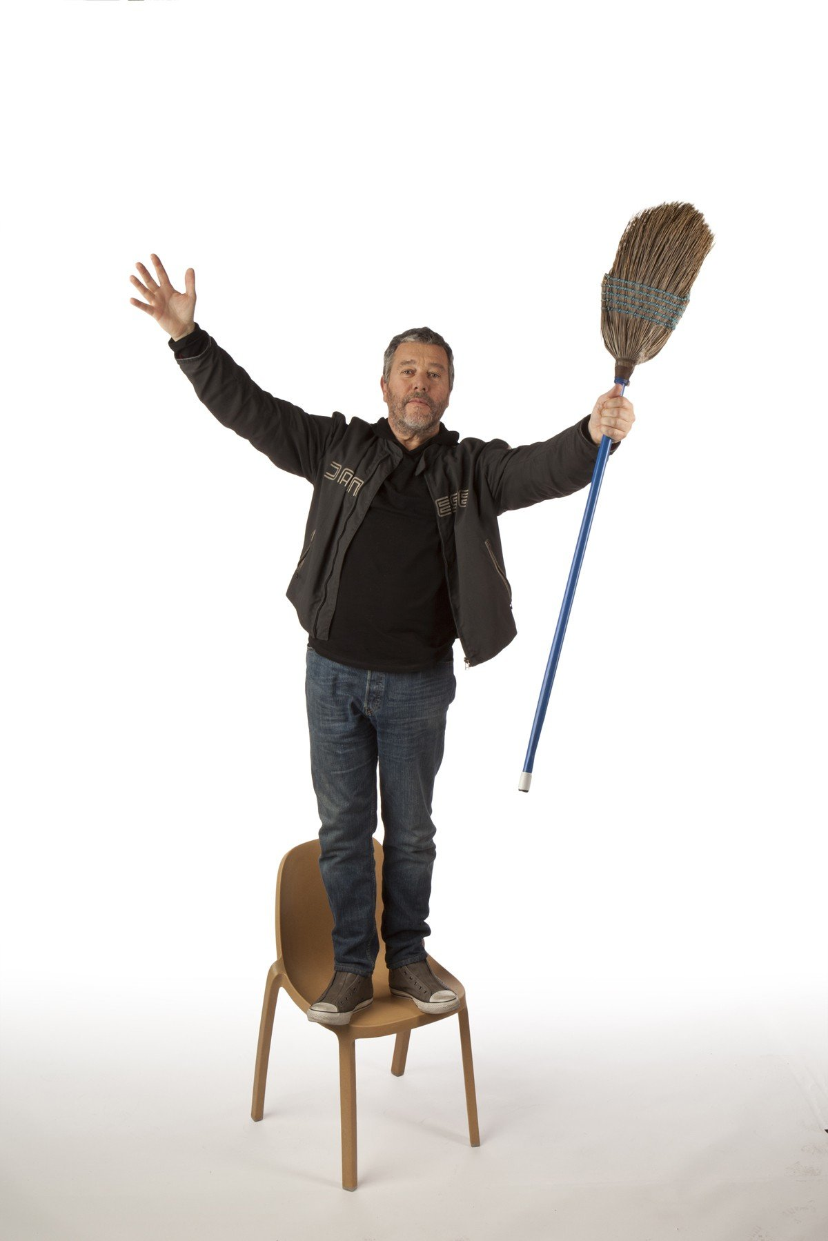 The Broom Chair By Philippe Starck With Emeco