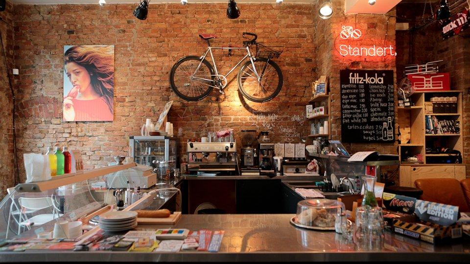 Standert Coffee And Bike Shop In Berlin