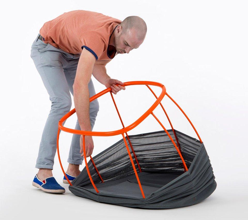 Membrane Lounge Chair by Benjamin Hubert