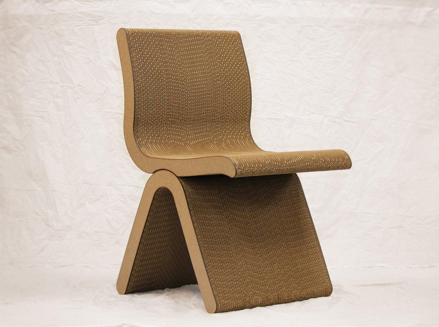Cardboard furniture chair - Cardboard Furniture Chair 2