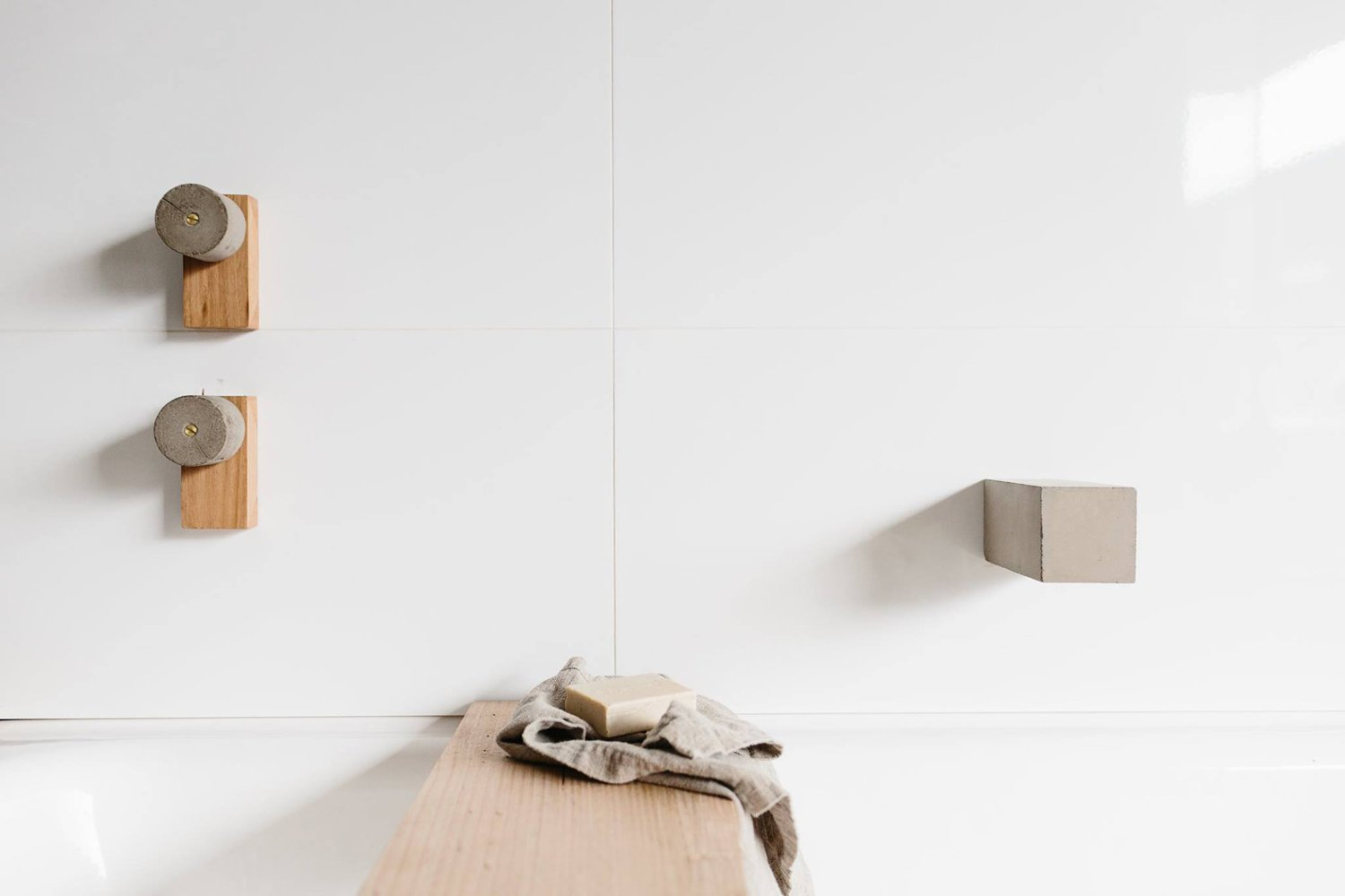 Natural Bathroom Decor By Wood Melbourne