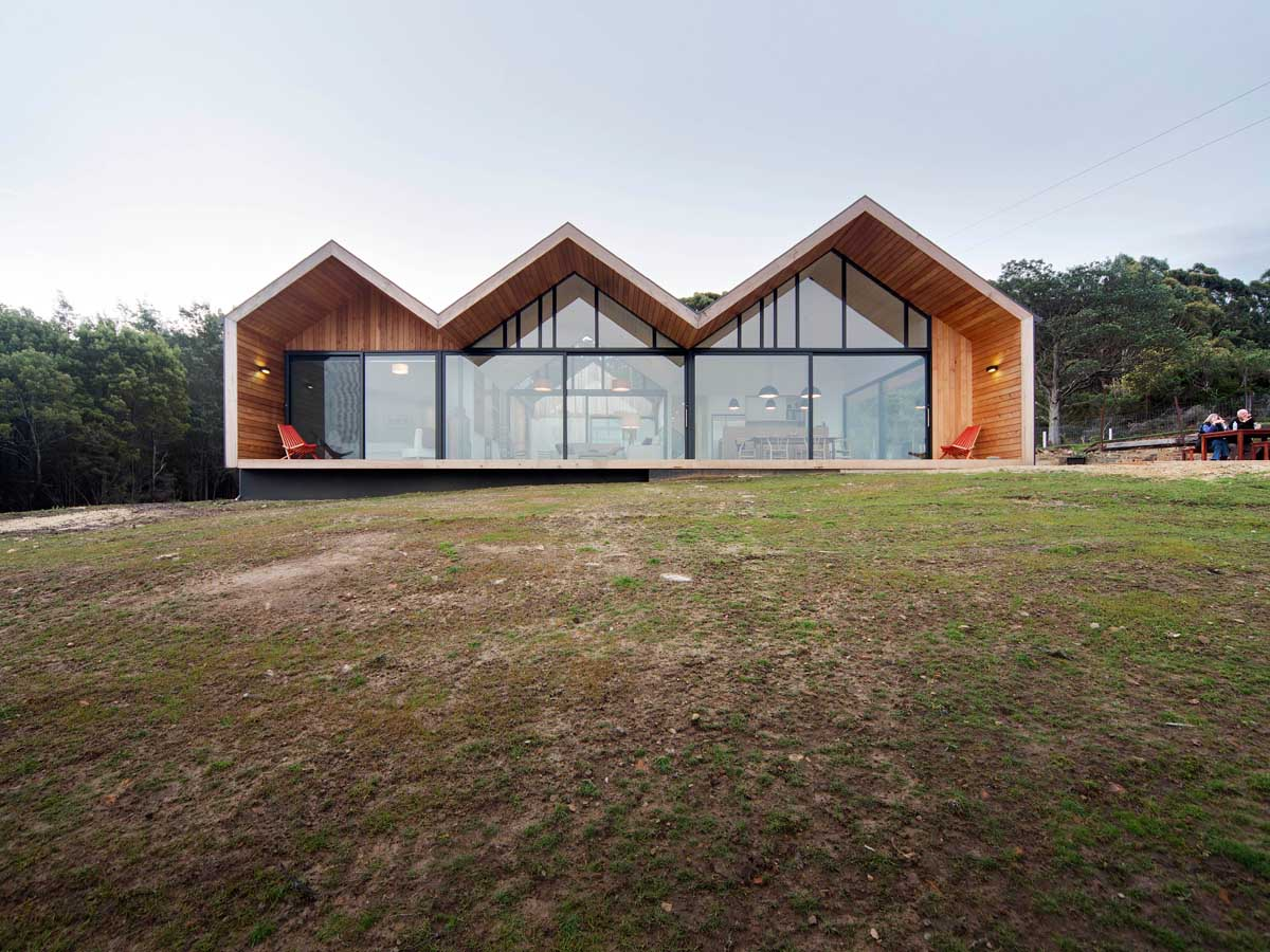 Tasmanian lookout house for Tasmanian home designs