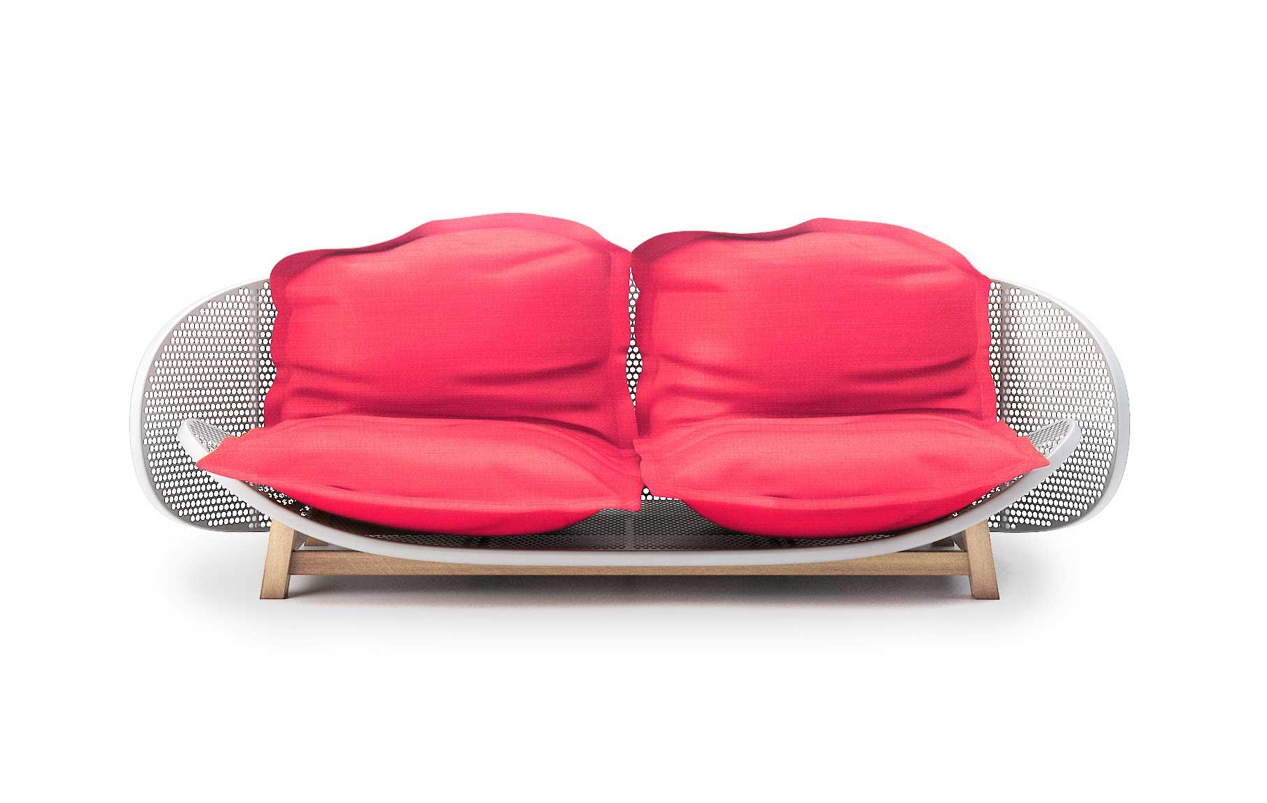 Bean Bag Sofa OUFS By Alexandre Boucher