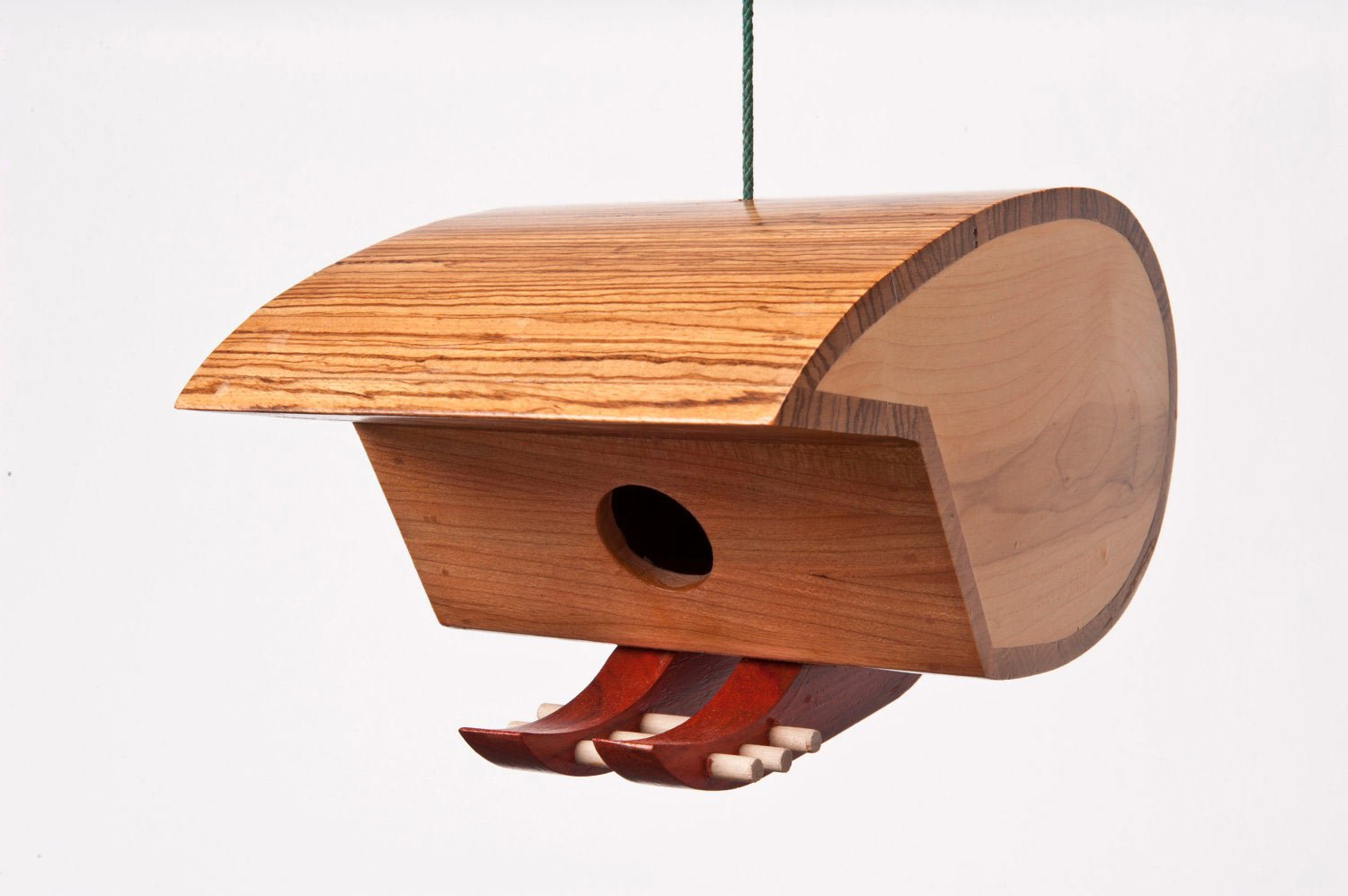 Birdhouses Inspired by Mid-Century Modern Design