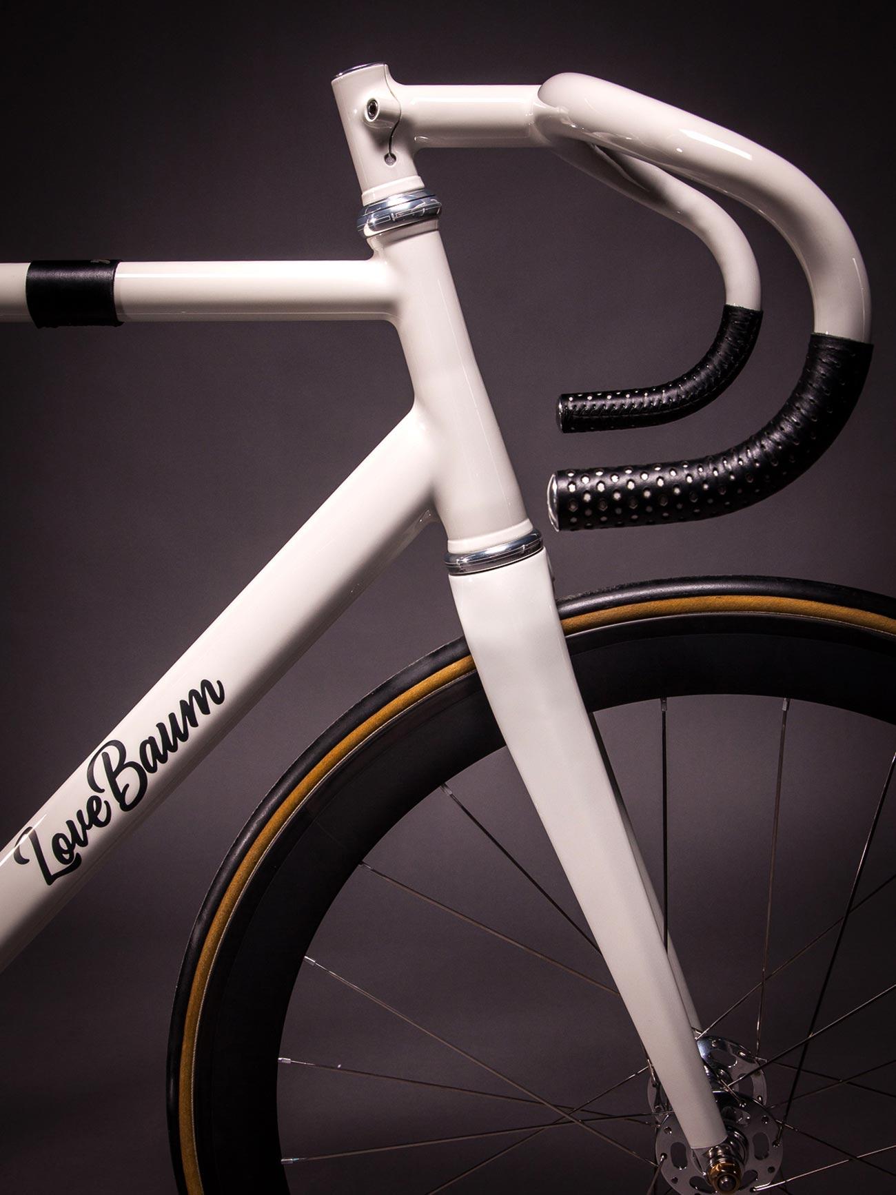 Curved Aero Track Bike By Lovebaum