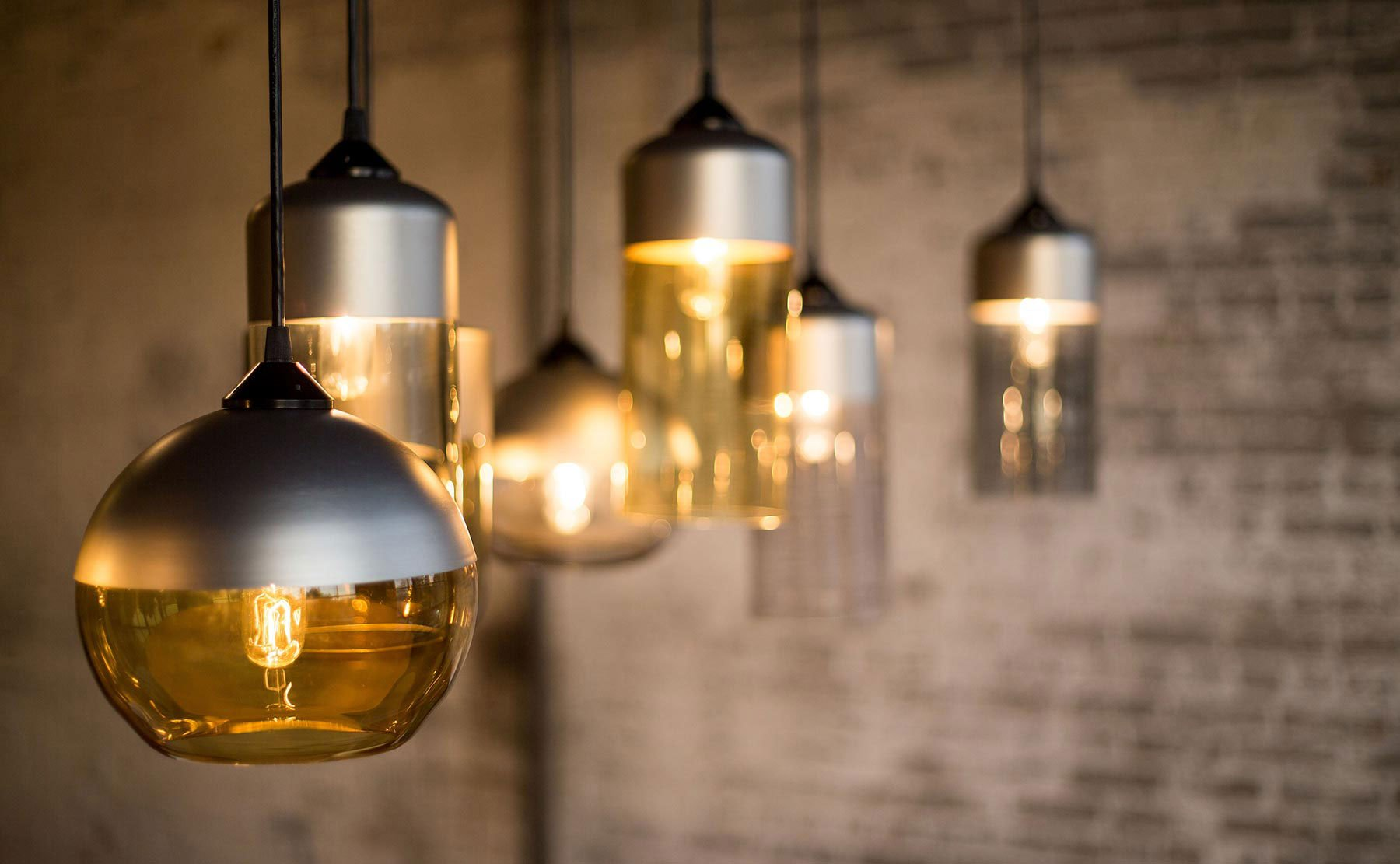Parallel Series Pendant Lamps Handcrafted By Hennepin Made