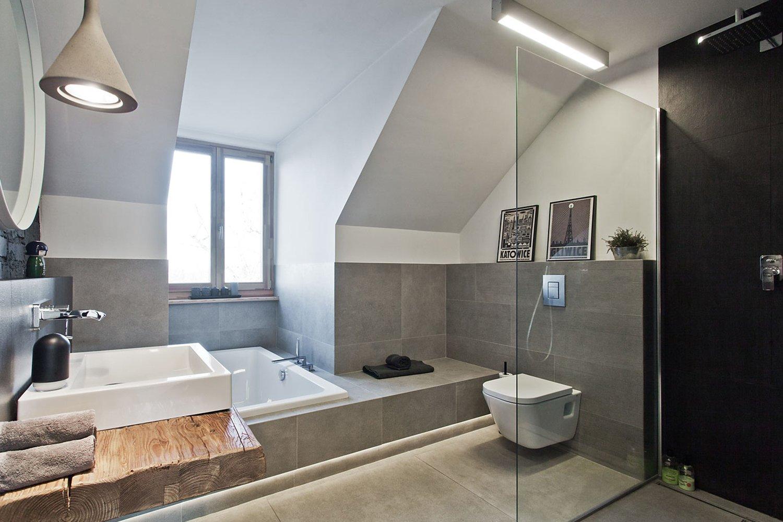 Attic Renovated As A Loft Apartment In Poland