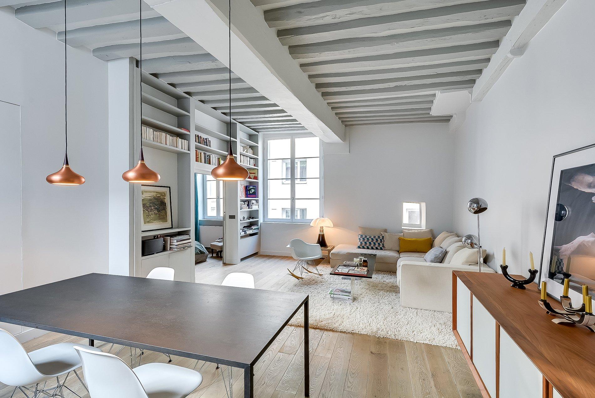 Ikea Slaapkamer Designer : Bright yet soft paris apartment design by tatiana nicol