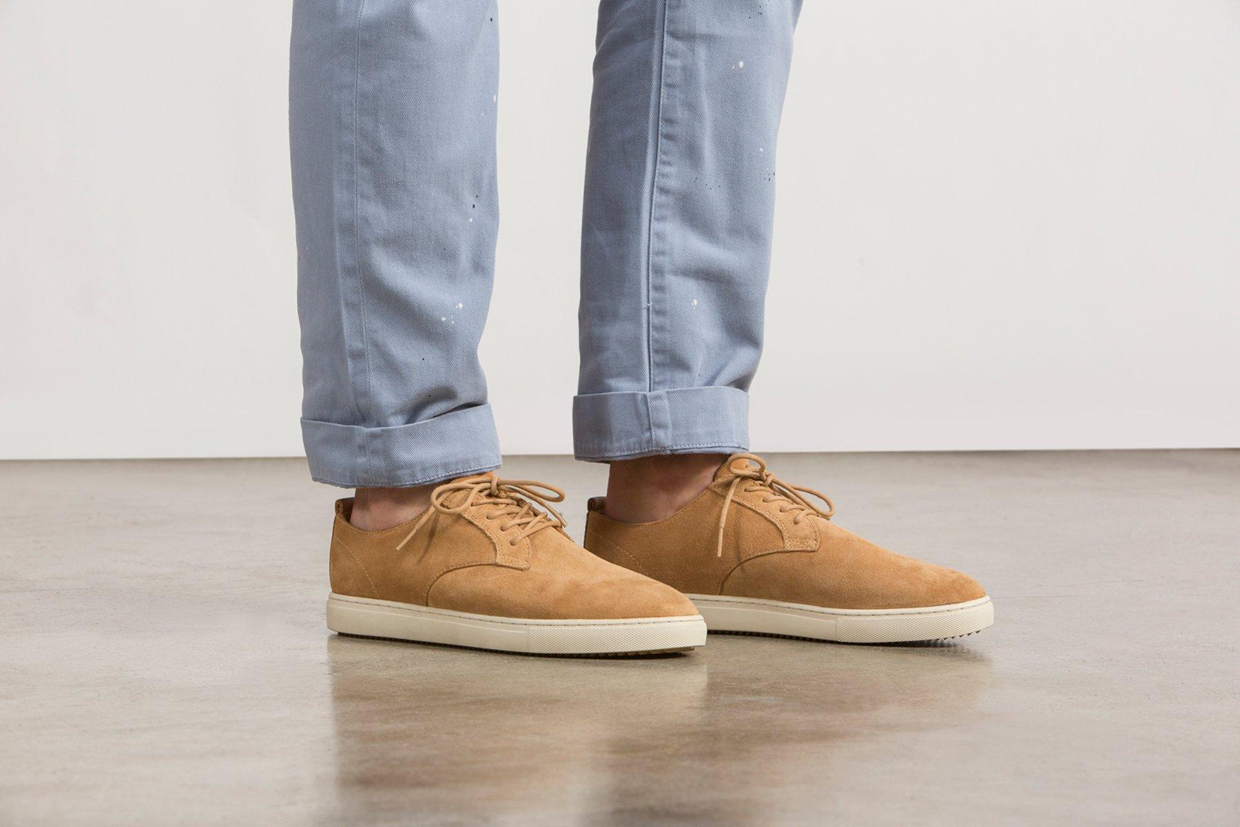 Clae Ellington White Shoes