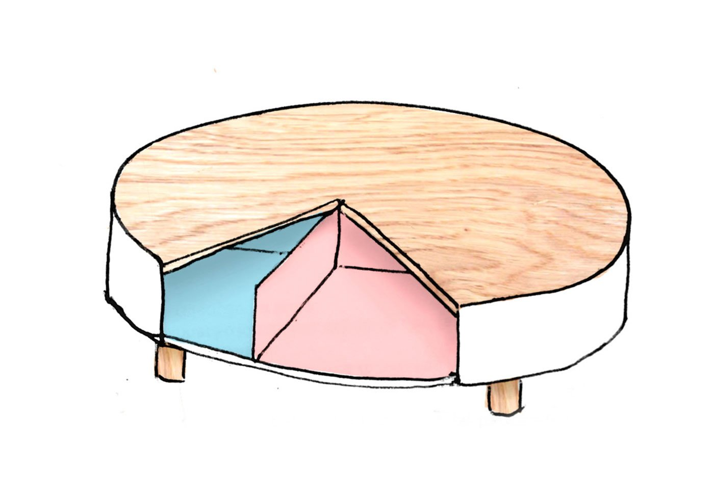 Times 4 An Organized Coffee Table By Gon 231 Alo Campos