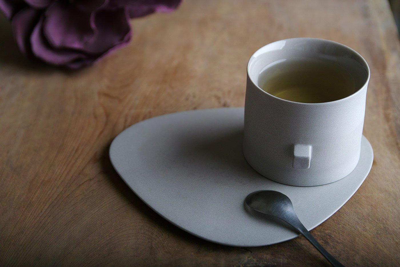 Round Square Teaware by Koan Design