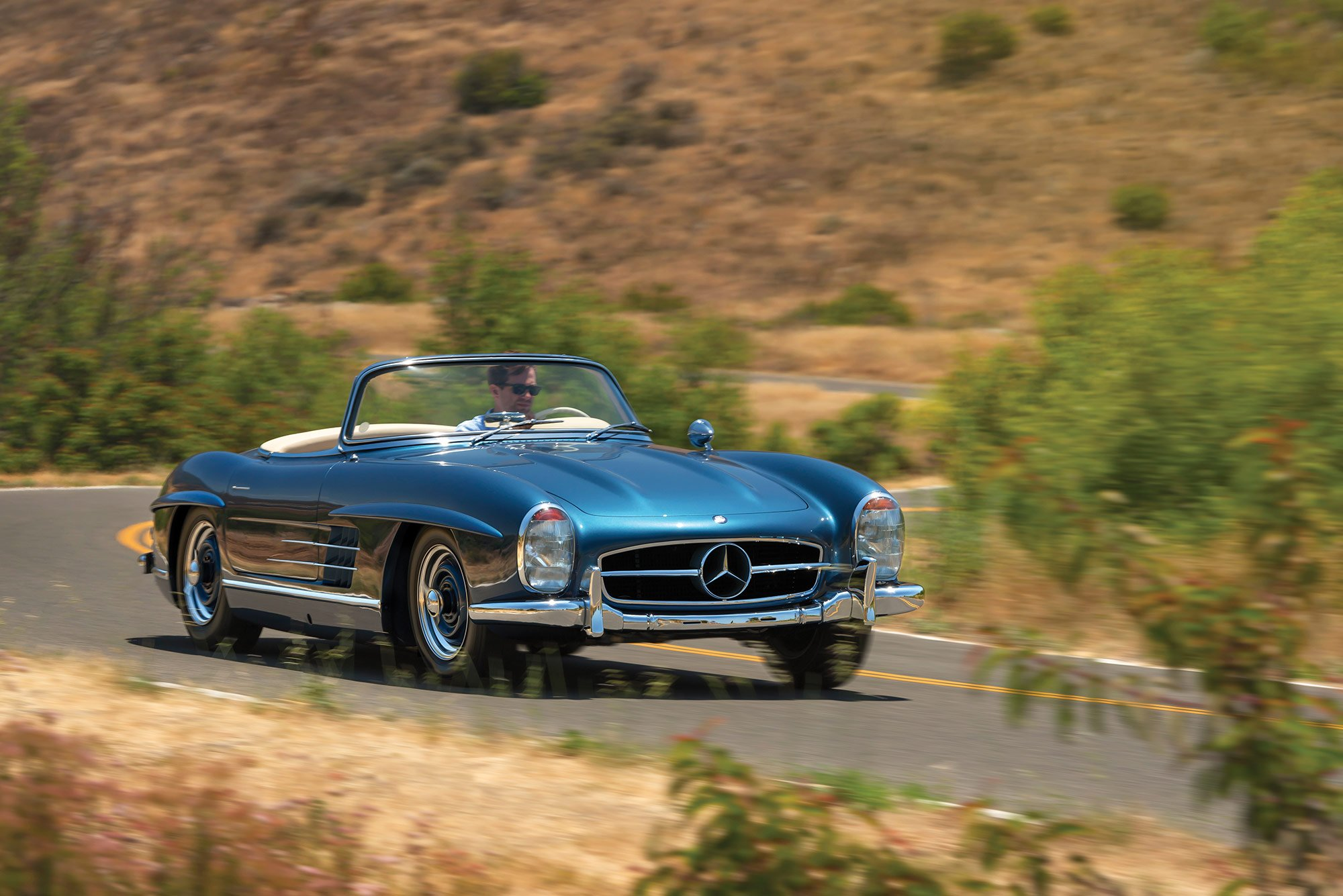1957 mercedes benz 300 sl roadster for Mercedes benz 300