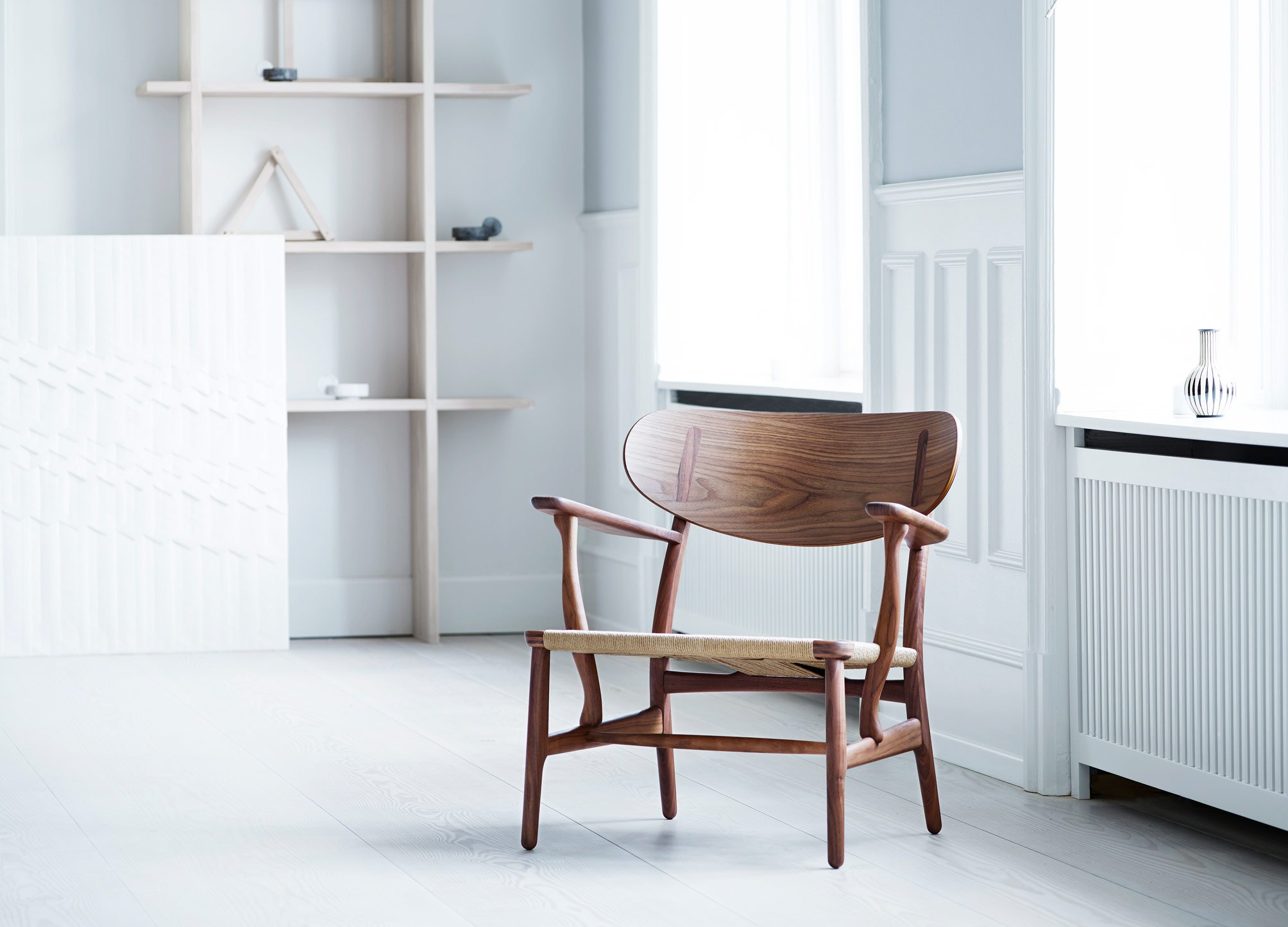 CH23 And CH22 Chairs By Hans J. Wegner