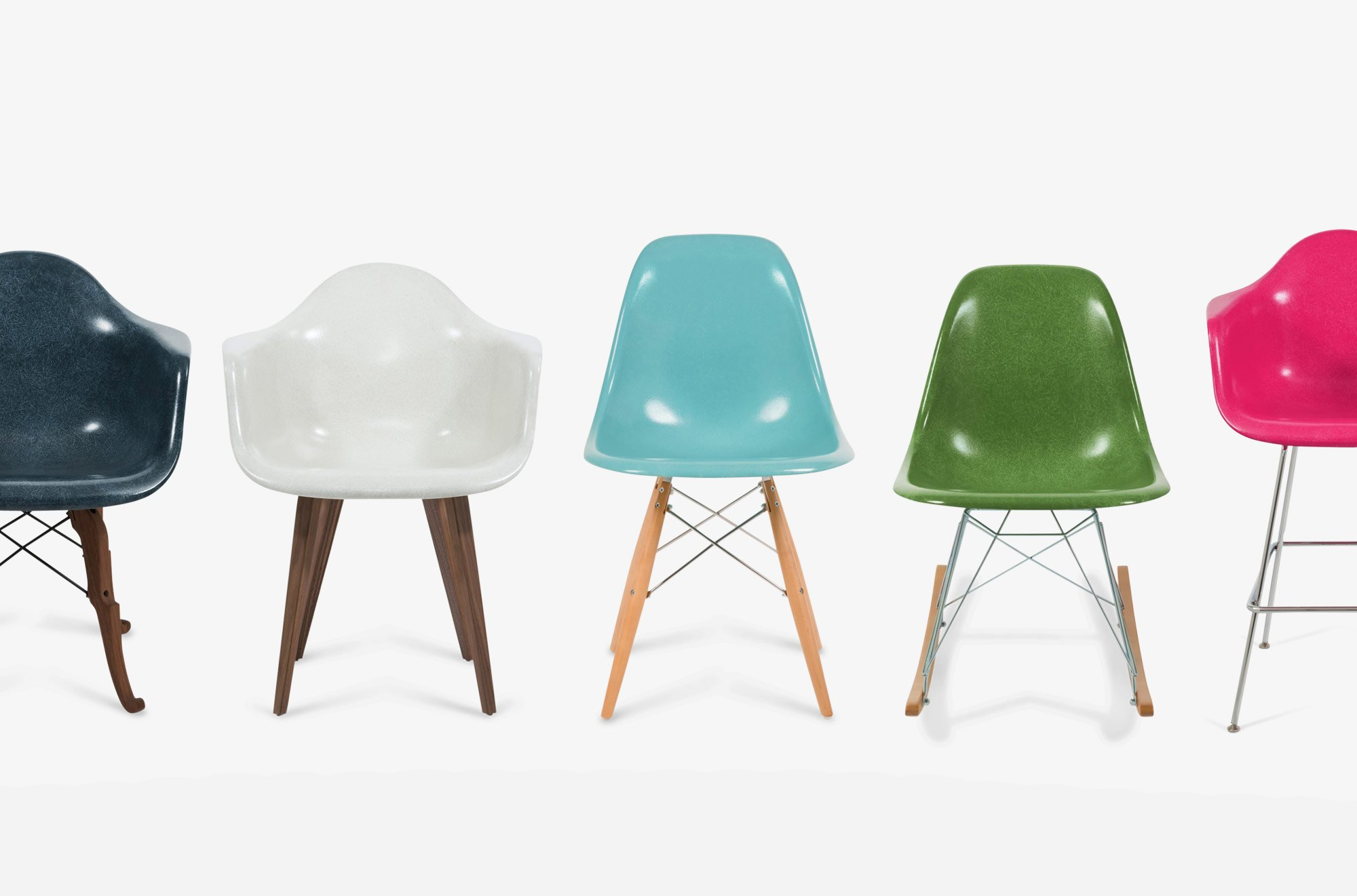 Modernica Revives The Iconic Fiberglas Shell Chairs