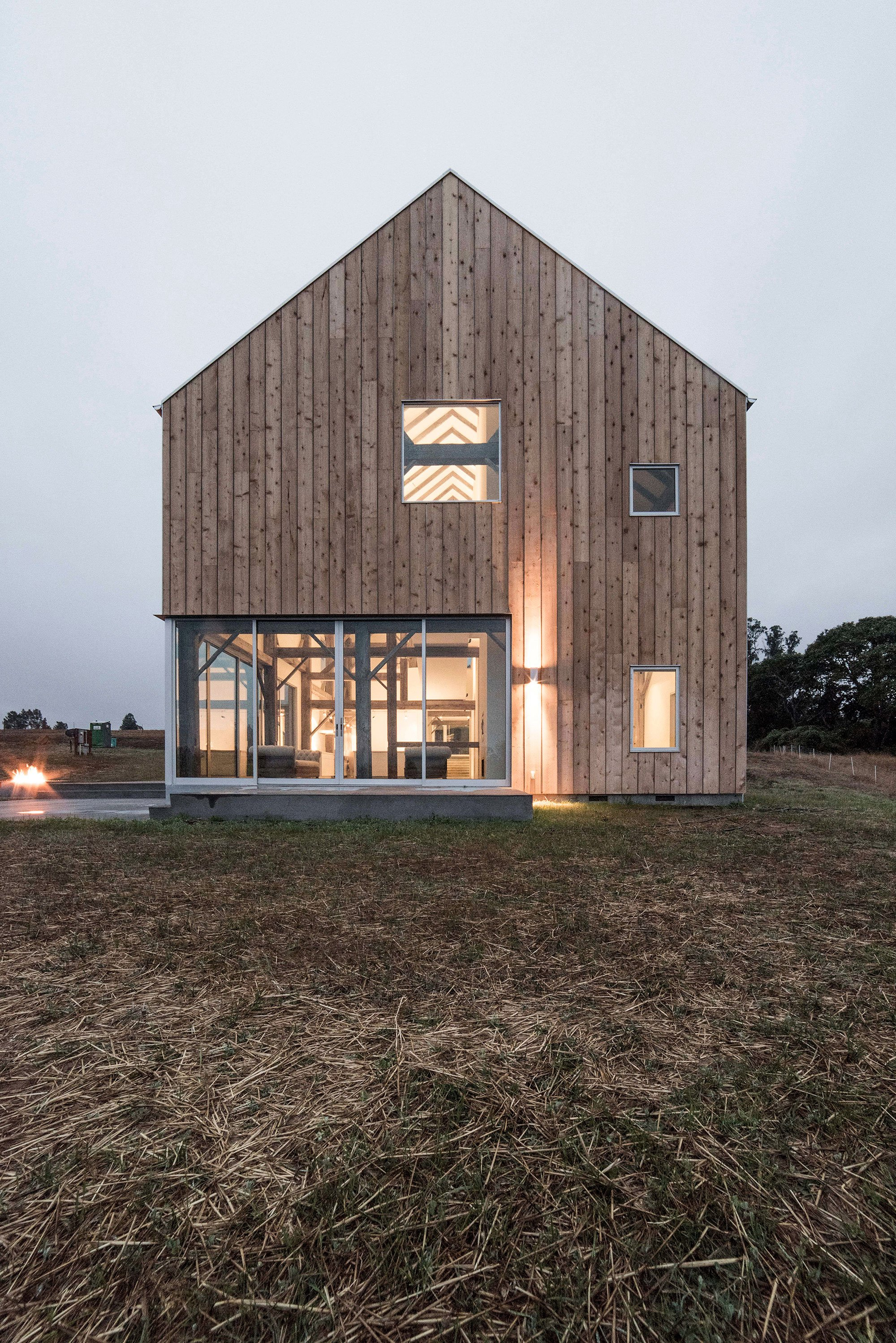 Modern Barn House Modern Barn House In Sebastopol By