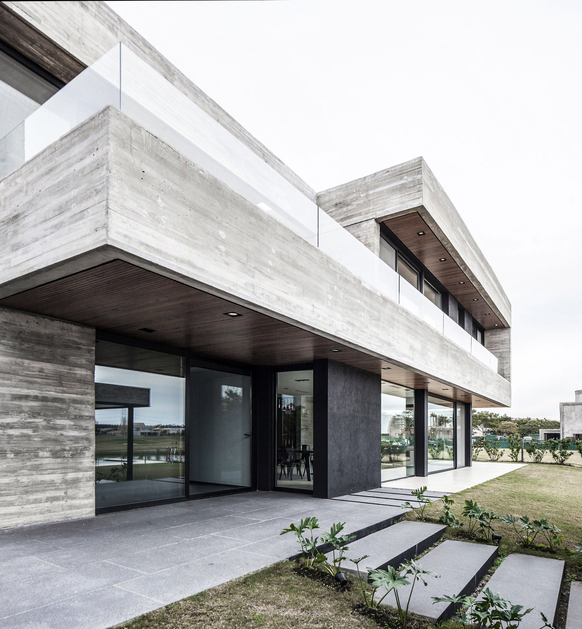 A Modern Concrete House Designed By Remy Architects