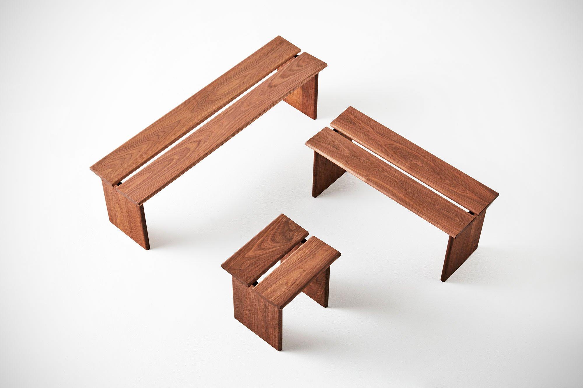 Minimal furniture design the yu range designed by mikiya for Minimal furniture design