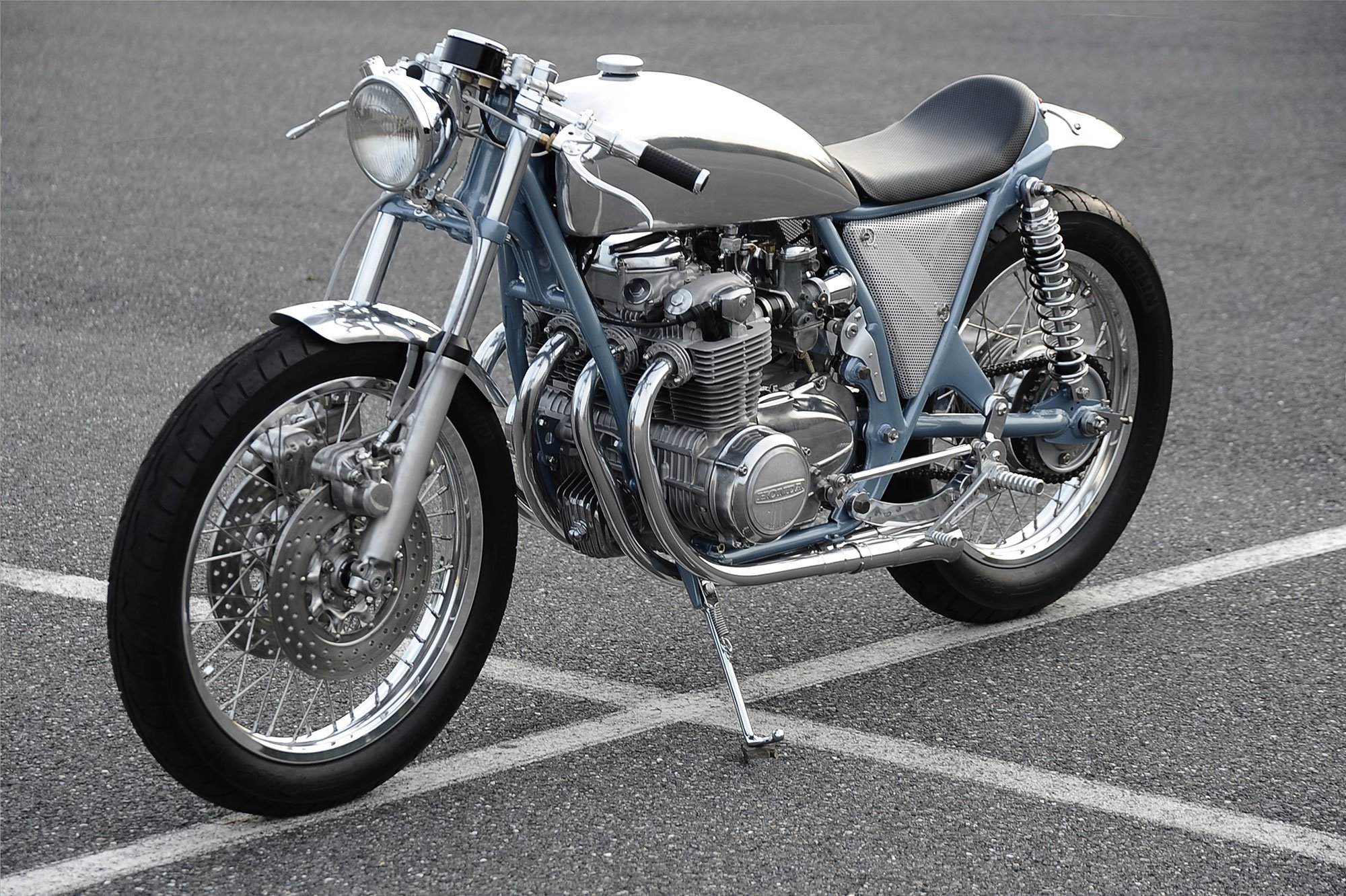 Honda CB 500 Cafe Racer By Blacksquare Motorcycles