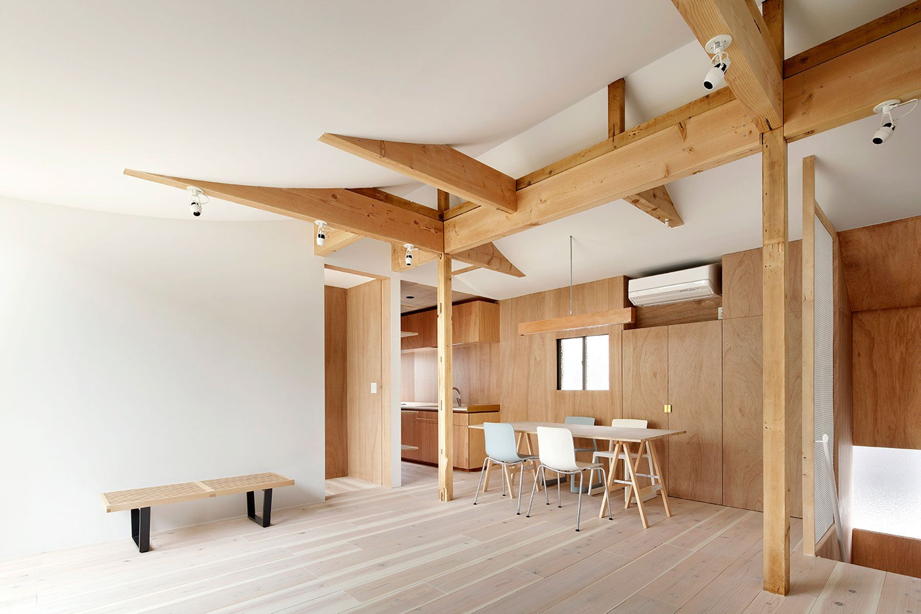 Japanese Wooden House Design House For Four Generations