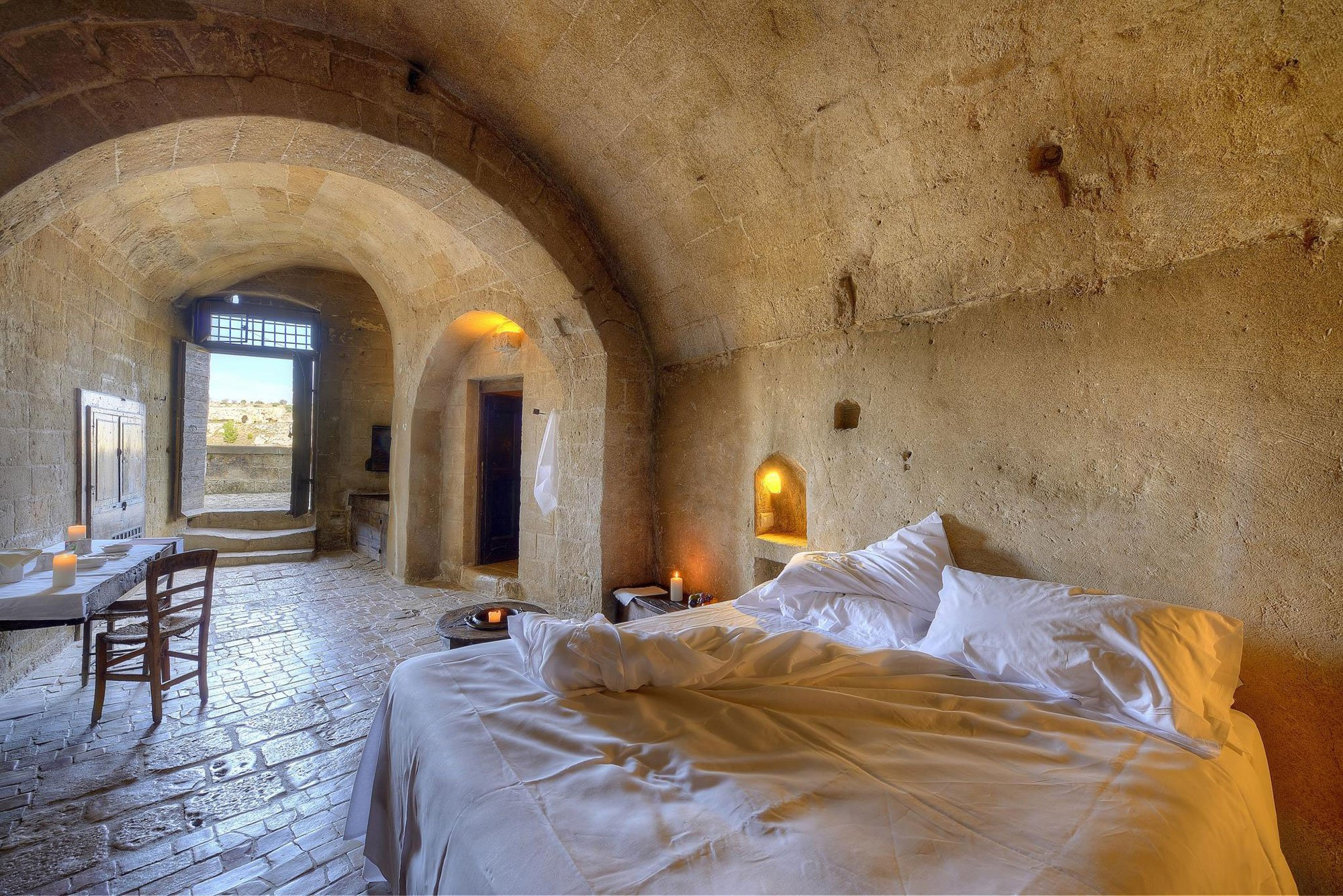 Matera Italy Cave Hotels