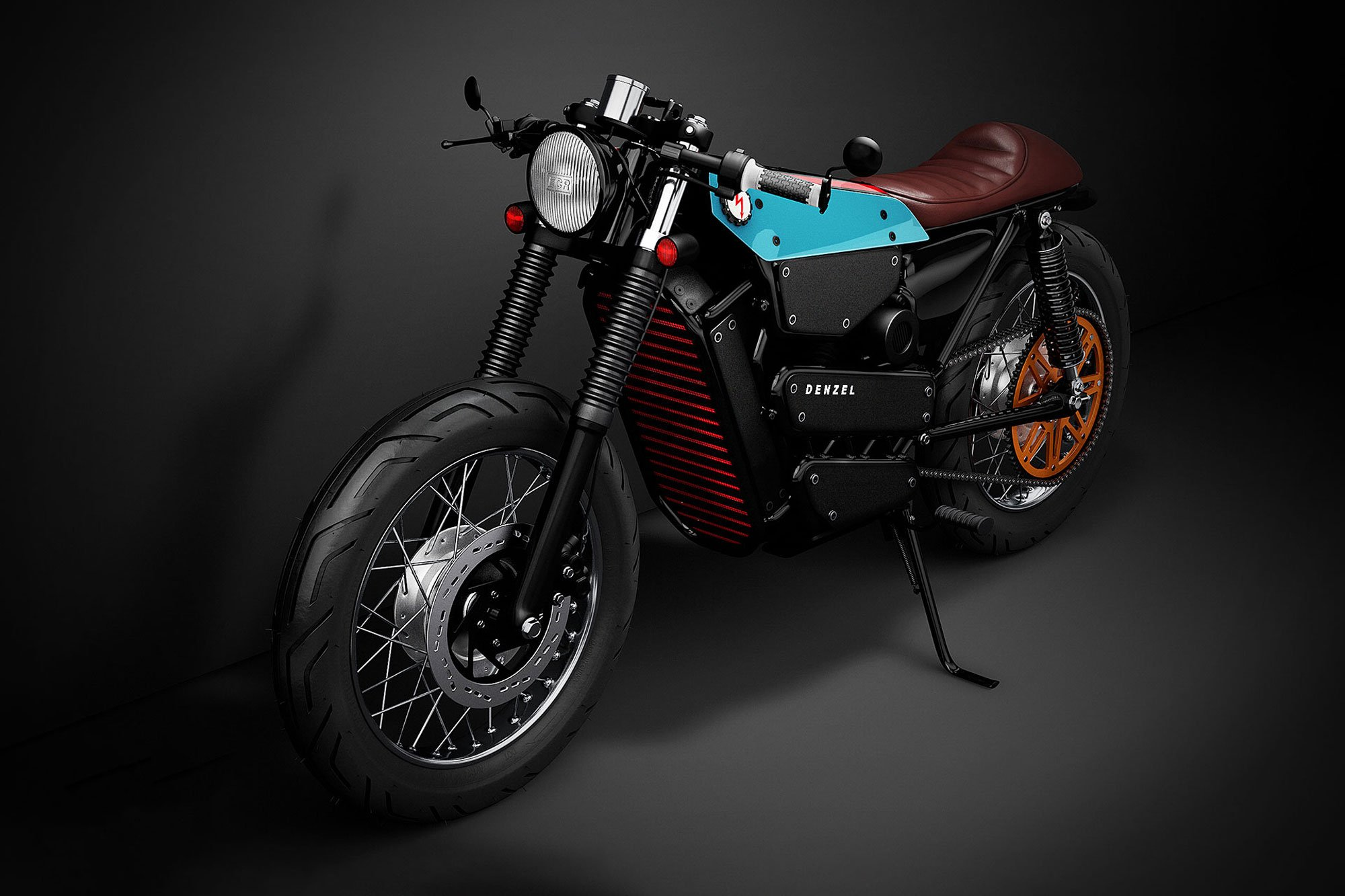 A Honda Electric Cafe Racer Motorcycle Concept