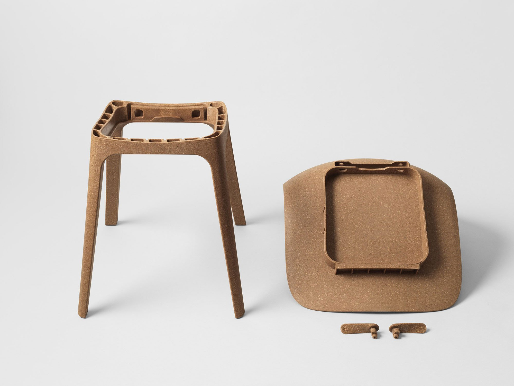 Eco friendly chairs odger designed by form us with love for ikea