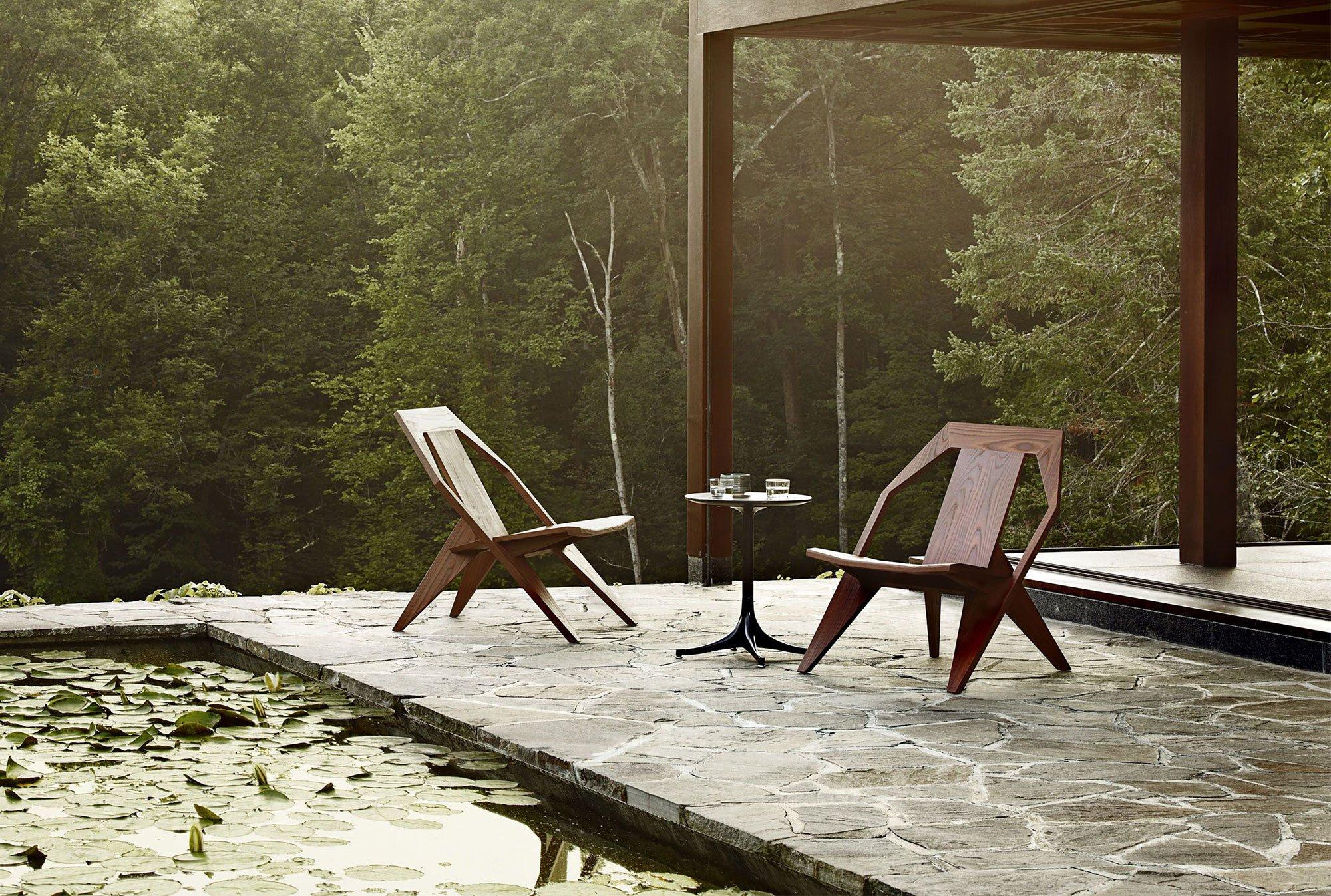 Verzauberkunst Lounge Outdoor Foto Von