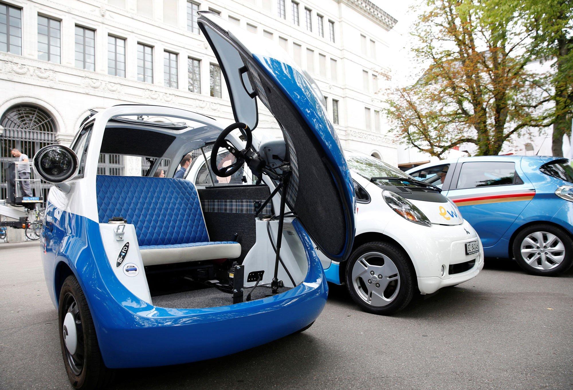 The Microlino Ev Car