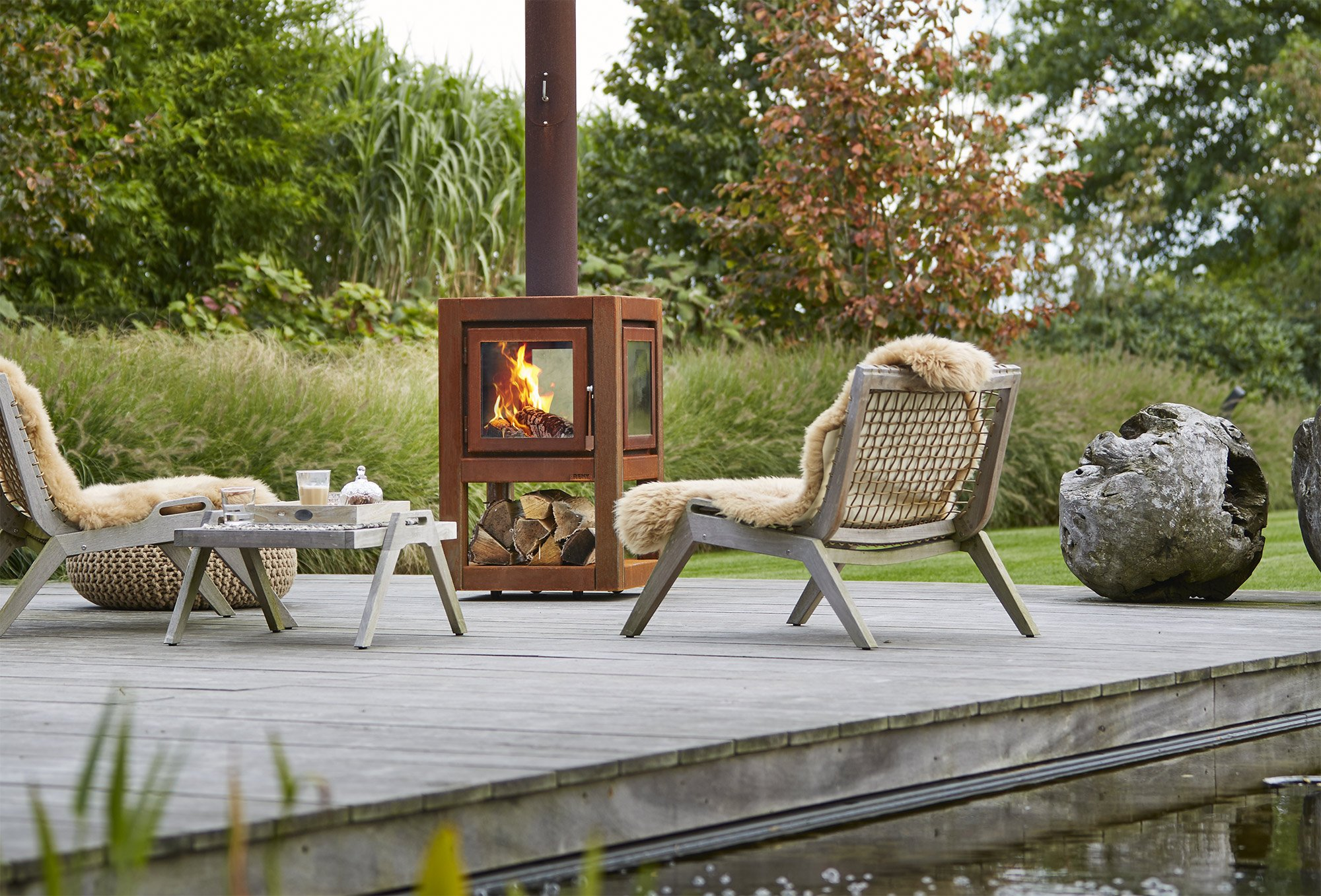 Stupendous Best Outdoor Fireplaces And Fire Pits Uwap Interior Chair Design Uwaporg