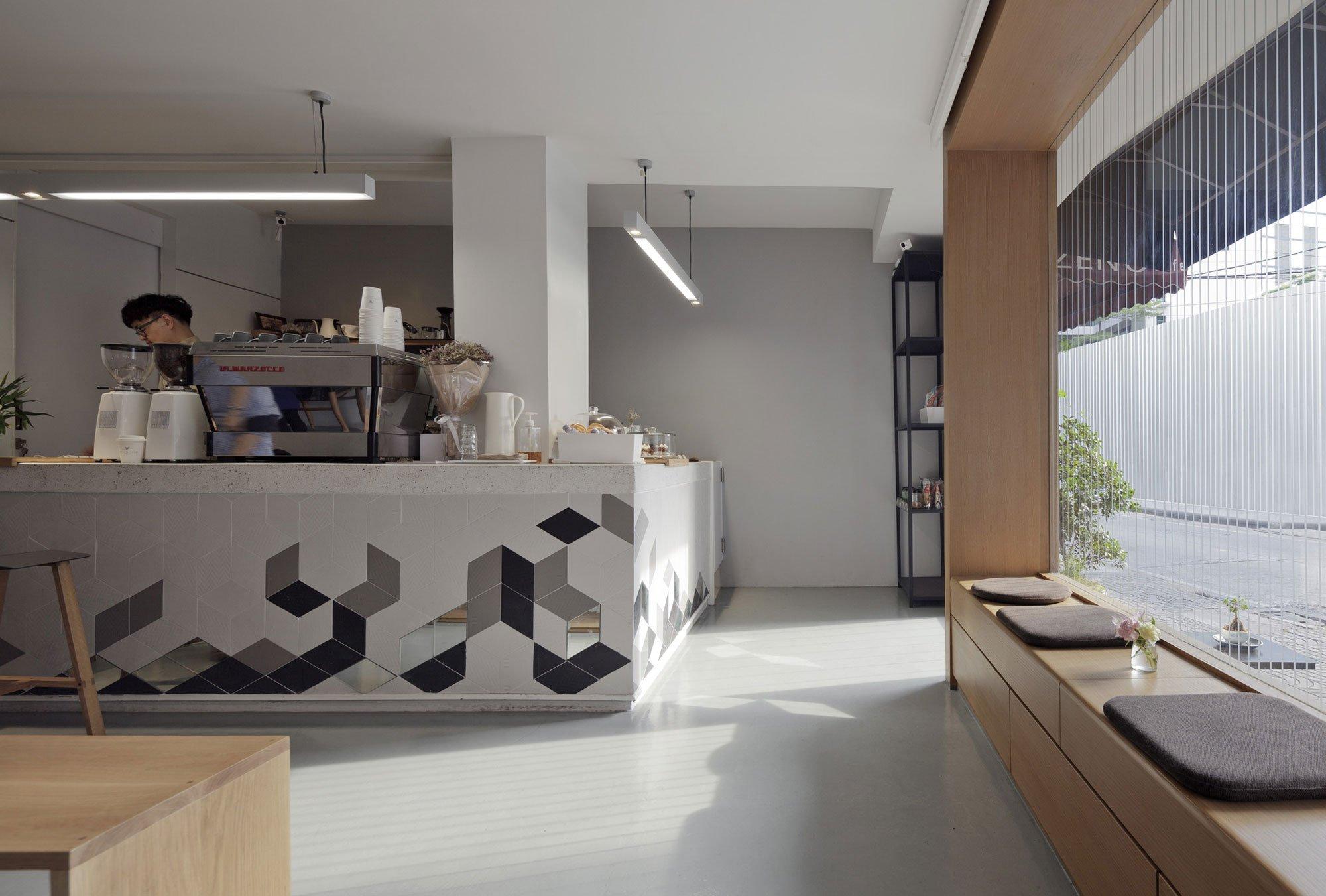 Invisible Coffee Room by I Like Design Studio, coffee shop design