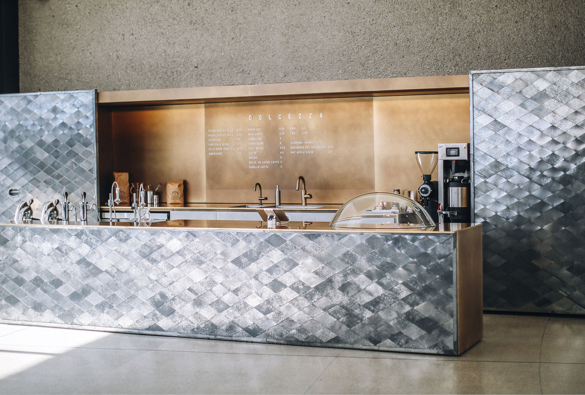 Dolcezza at the Hirshhorn by Hiroshi Sugimoto, coffee shop design