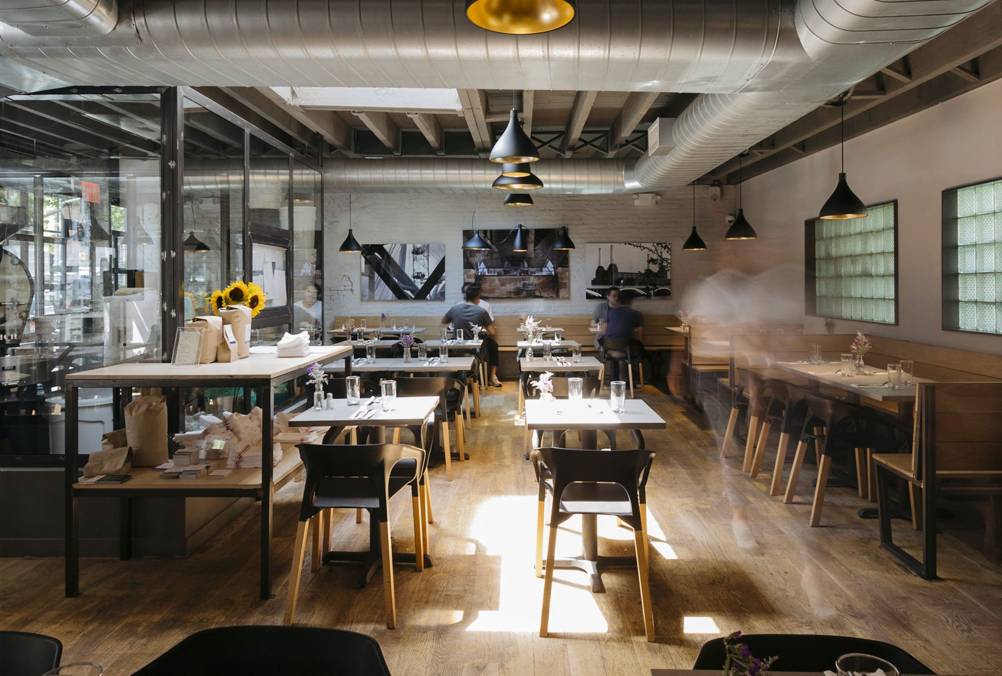 East One Coffee Roasters by Blueberry Builders, coffee shop design