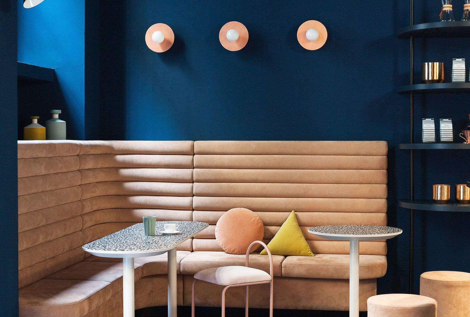 Cafezal, Milan by Studiopepe, coffee shop design