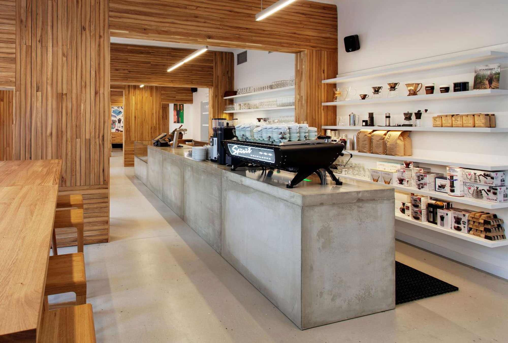 Misto Café by Edit, coffee shop design
